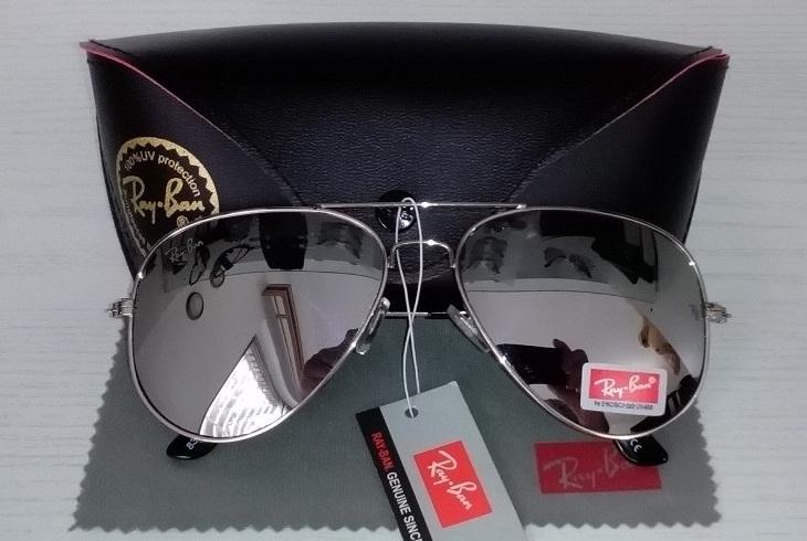 عینک آفتابی خلبانی ری بن Rayban دارای استاندارد UV400
