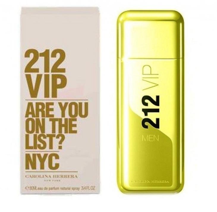 ادکلن مردانه 212 طلایی 212 VIP GOLd