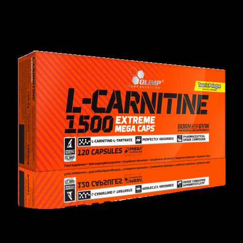 ال کارنیتین L-CARNITINE 1500 120CAP (نارنجی) OLIMP