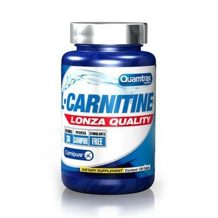ال کارنیتین QUAMTRAX 120 Cap L-CARNITINE