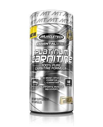 ال کارنیتین ماسل تچ MuscleTech L-CARNITINE 180Cap-PLATINUM