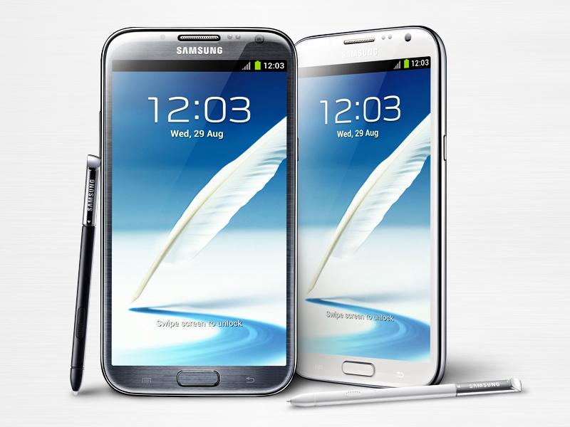 قیمت Samsung Galaxy Note II