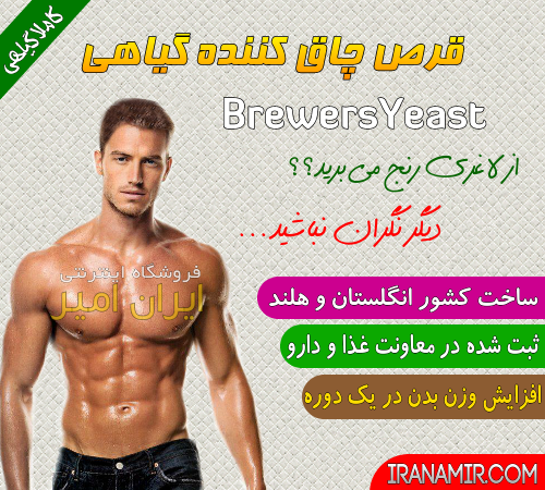 مخمر آبجو 30 عددی Brewers Yeast